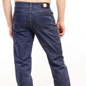 "Brax Sz 40 x 34 jeans ""Cesar"" straight leg blue"